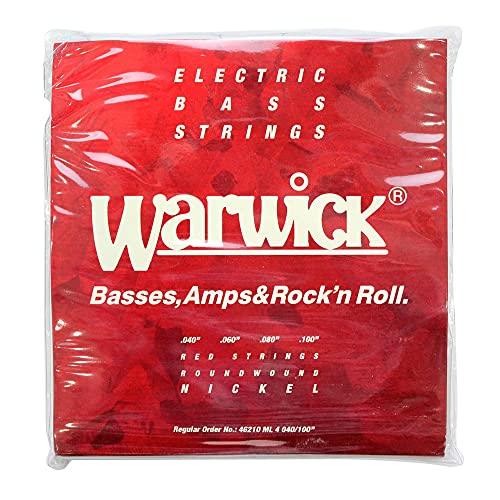 6位:Warwick『Nickel Electric Bass Strings Medium Light(46210)』