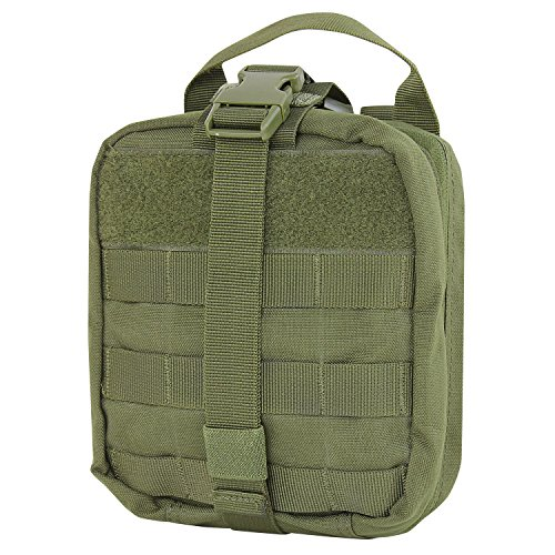Condor Rip-Away EMT Pouch (Olive Drab, 8 x 6 x 3.5-Inch)