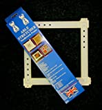 Able Stretcher 16 Needlework Frame suitable for cross stitch, tapestry, quilting, needlepoint and all sewing crafts by Able Stretcher Needlework Frame