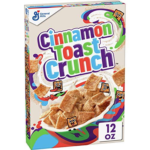 Cinnamon Toast Crunch Cereal with Whole Grain, 12 oz