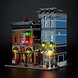 LIGHTAILING Set di Luci per (Creator Expert Ufficio Dell'Investigatore) Modello da Costruire - Kit Luce LED Compatibile con Lego 10246 (Non Incluso nel Modello)