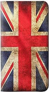 RW2303 British UK Vintage Flag PU Leather Flip Case Cover for Motorola Moto G5 Plus