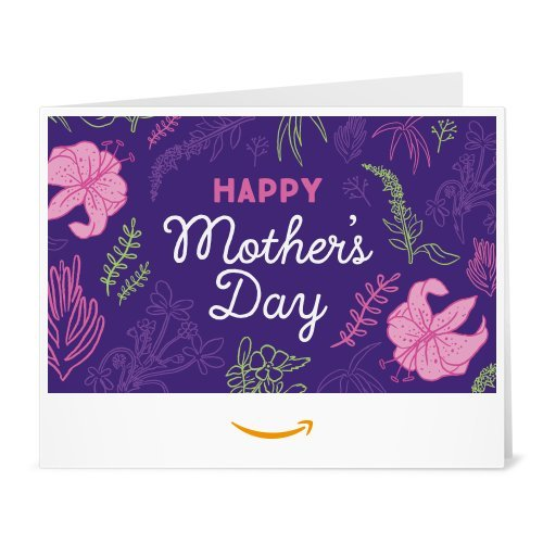 Amazon Gift Card - Print - Floral Mother's Day