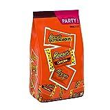 REESE'S Milk Chocolate Peanut Butter Assortment Candy, Bulk Candy, 31.56 oz Bag (50 Pieces)