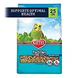 Kaytee Forti-Diet Pro Health Parakeet Food, Special Ecommerce Pack, 25 Lbs, Parakeet pet Bird Food