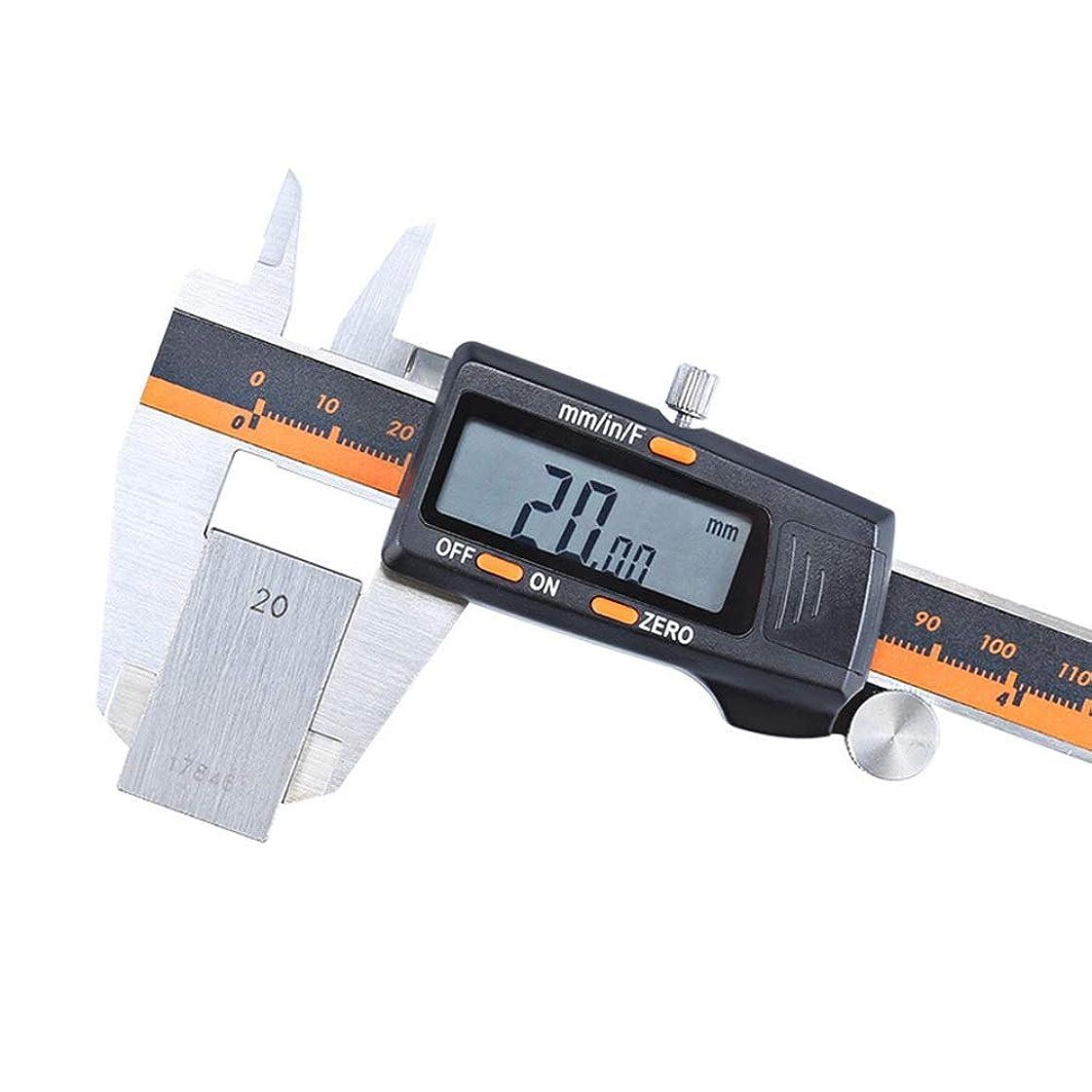 匿名高層ビル寺院DECETAZY 測定 分数表示式デジタルキャリパー電子ノギス0?150ミリメートル(:0?150ミリメートルサイズ)ステンレス製デジタルノギス