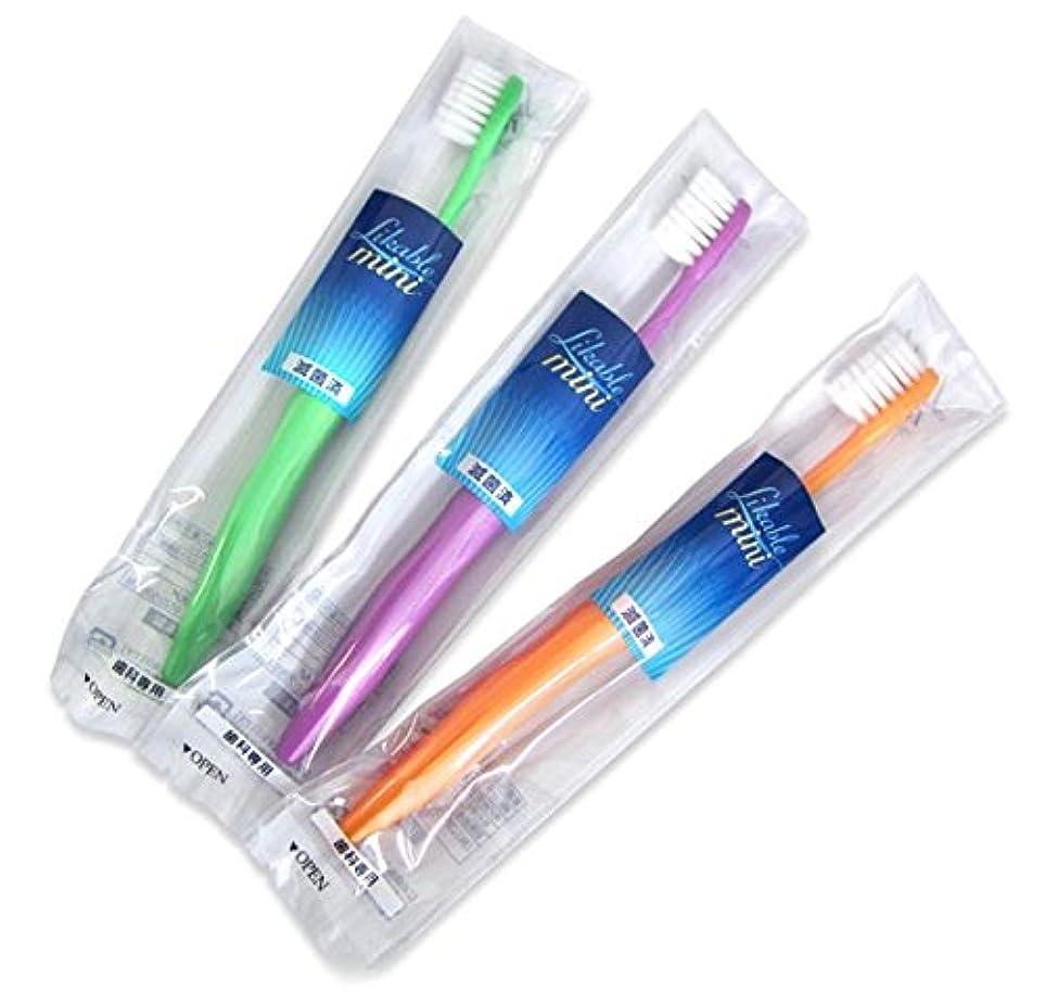 痛いマイルストーン伸ばすライカブル ミニ歯ブラシ 12本入