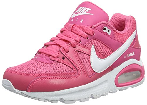 Nike Mädchen Air Max Command Low-Top, Pink (Dynamic Pink/White-Dynmc Pink), 38 EU