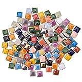 PandaHall 250g Cuadrado Azulejos de Mosaico de Cerámica Piezas Chips Floreros Marcos de Fotos...