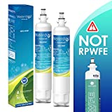 Waterdrop NSF 53&42 Certified Refrigerator Water Filter, Compatible with GE RPWF(Not RPWFE), Advanced, Pack of 2