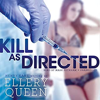 Kill as Directed audiobook cover art