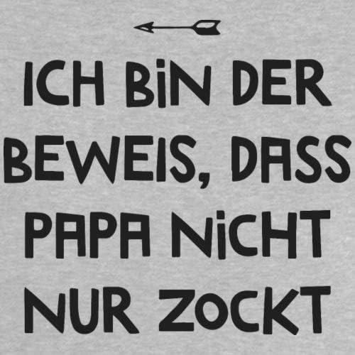 Ich Bin der Beweis Papa Zockt Nicht Nur Gamer Vater Baby T-Shirt