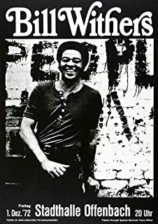 Bill Withers - Still Bill 1972 - Concert Poster Plakat