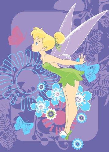 Tapis de sol Disney Fée Clochette 95 x 133 cm