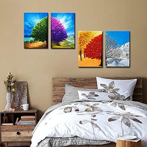 4 seasons wall art _image3