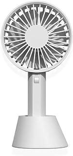 HPPSLT Handheld Fan Electric Mini Draagbare Outdoor Silent Opvouwbaar Handvat, USB draagbare draagbare draagbare draagbare...