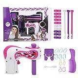 Máquina de Trenzado de Pelo, Máquina Trenzadora Eléctrica de Bricolaje, Trenza de Torsión Automática Trenzadora de Pelo Twister Kit de Juguetes de Salón de Moda para Niños/Niñas/Mujeres(#1)