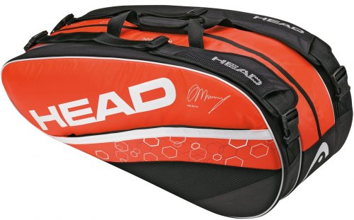 HEAD  Tennistasche Murray Monstercombi, orange/schwarz, TH283182