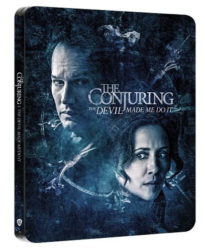 The Conjuring 3 - Per Ordine Del Diavolo Steelbook (4K Ultra HD + Blu-ray) (2 Blu Ray)