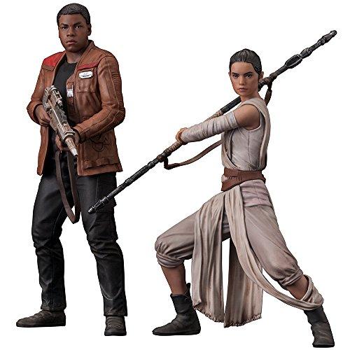 Kotobukiya Figura Star Wars Finn e Rey Pack