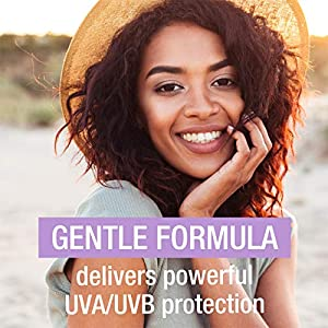 Neutrogena Sensitive Skin Mineral Sunscreen Lotion with Broad Spectrum SPF 60+ & Zinc Oxide, Water-Resistant, Hypoallergenic, Fragrance- & Oil-Free Gentle Sunscreen Formula, 3 fl. oz