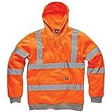 Qaswa Hi Viz Alta visibilit/à Men Pantaloni da Lavoro Riflettenti Fluorescenti Sicurezza Pantaloni