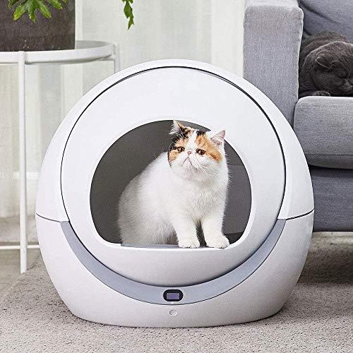 Automatische kattenbak automatische cat zandbak inductie roterende cleaning robot kat strooisel grote pot zelfreinigende kattenbak LOLDF1