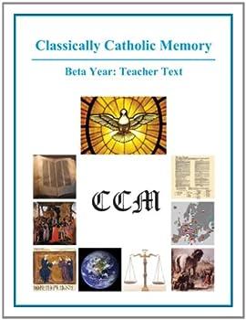 Spiral-bound Classically Catholic Memory Teacher's Manual Beta Year Book
