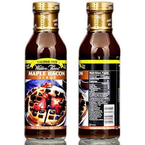 Walden Farms Maple Bacon Zero Calories Syrup