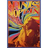 Janis Joplin Laminiertes Konzert-Poster von Matthew de la