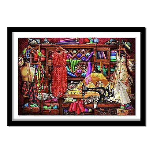 Kit de Pintura de Diamantes 5D Completo Kits de arte de diamantes 5D de bricolaje para adultos decoración de la pared del hogar Hermoso armario(30x40) CM