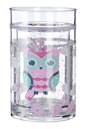 Premier Housewares Mimo Kids Trinkbecher, Happy Owl, Polystyrol