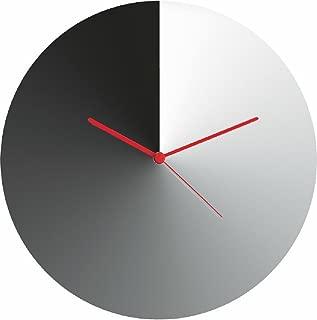 Alessi Arris Wall Clock, 30.00 x 30.00 x 4.00 cm, Silver