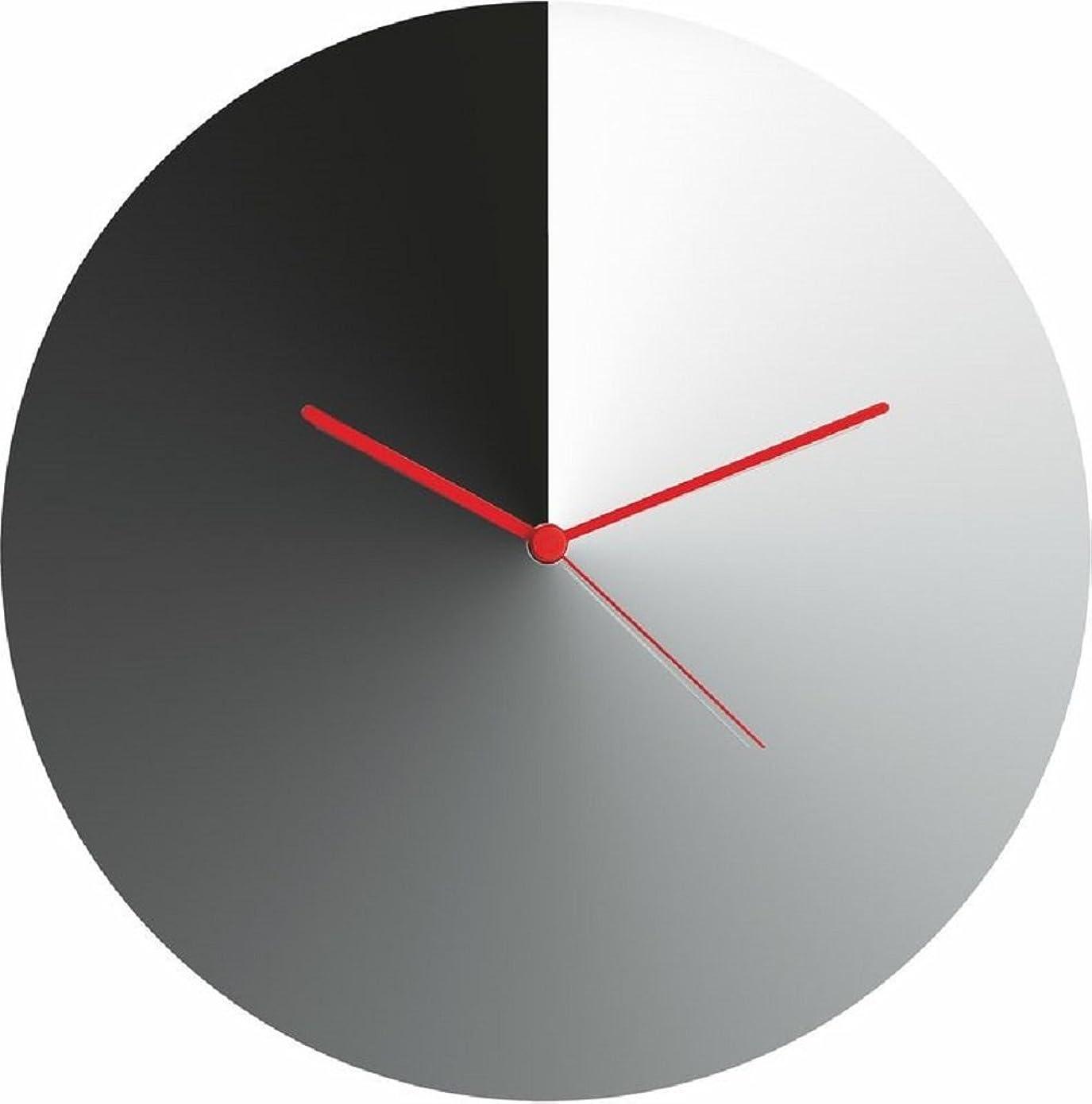 日帰り旅行に縁石寛容アレッシィ 置き時計?掛け時計 シルバー 約 直径 30 cm × 高さ 4 cm ACO05