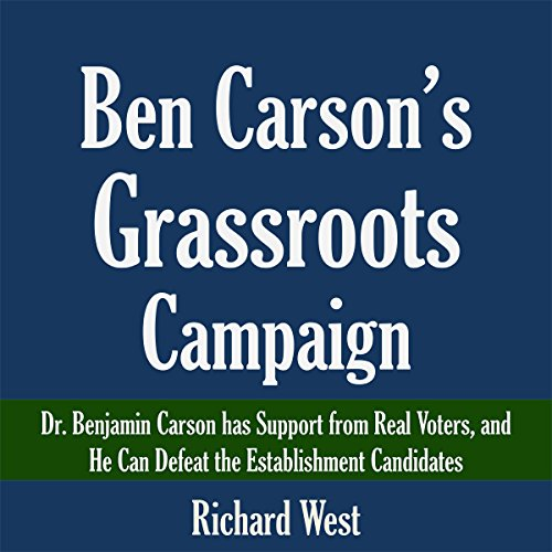 Ben Carson's Grassroots Campaign audiobook cover art