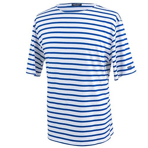 Saint James Levant- Streifenshirt - Bretagne-Shirts (XL, Neige Gitane)