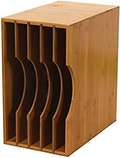 N/Z Muebles para el hogar Disco de Vinilo Caja de Almacenamiento LP Estante de Madera clásico Soporte de exhibición Disco/...