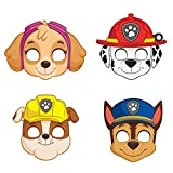 PAW Patrol Party Masks, Assorted 8ct
