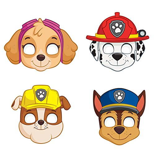 PAW Patrol Party Masks (Pack of 8)