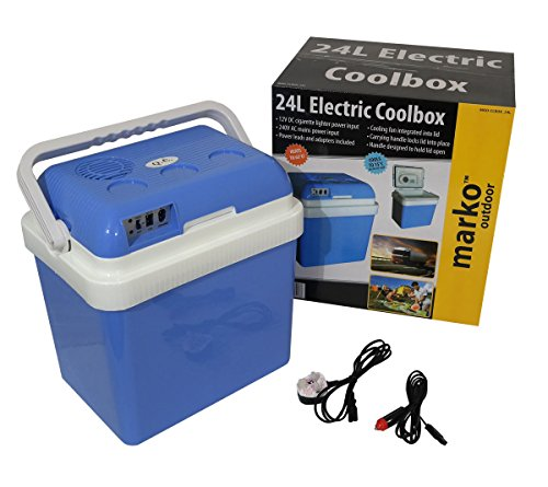 Marko Cool Box Food Drinks Cooler Electrical Heater Portable (24 Litre...