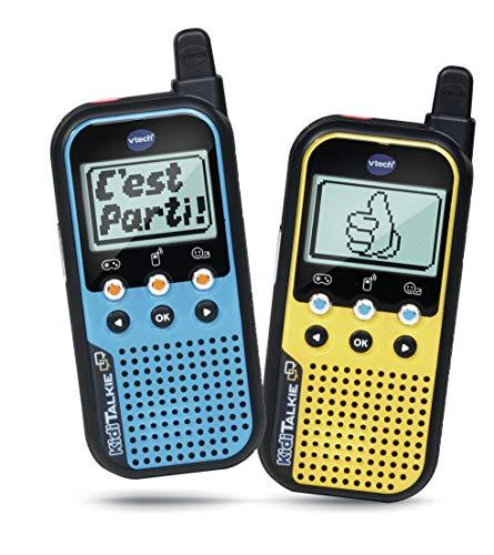 VTech - KidiTalkie, Talkie-Walkie enfants, jouet électronique éducatif - Version FR