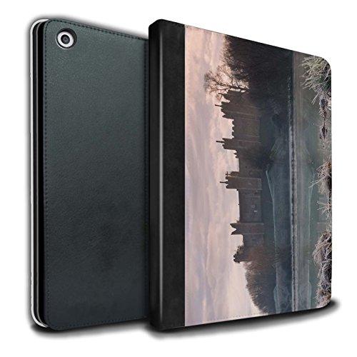 Stuff4 PU lederen boek/hoesje voor Apple iPad 9.7 (2017) tablets/Frozen Design/Castle Fort Collection