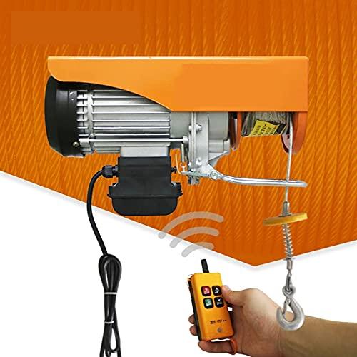 JCX Polipastos Electricos 510W, Elevador Electrico Capacidad 200kg/300kg, Electrico Electric Winch Host...