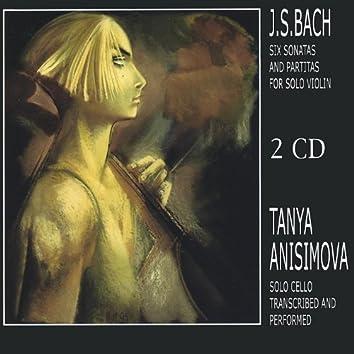 J.S.Bach's Six Sonatas and Partitas for Solo Violin