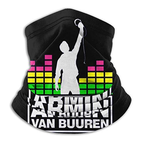 TUCBOA Armin Van Buuren Bufanda Viento Polvo Prueba Bandana Pasamontañas Lavable Calentador De Cuello Hombre Mujer Bufanda Facial para Cámping Senderismo Motocicleta
