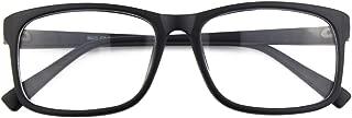 CN12 Retro Anteojos Lente Claro Gafas Para Mujer y Hombre