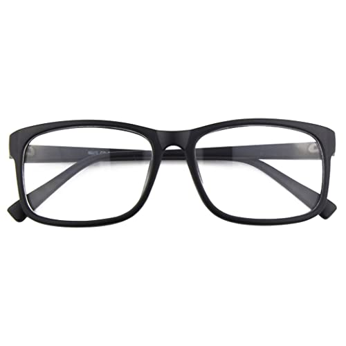 b1dac9143246 CGID CN12 Casual Fashion Basic Square Frame Clear Lens Eye Glasses