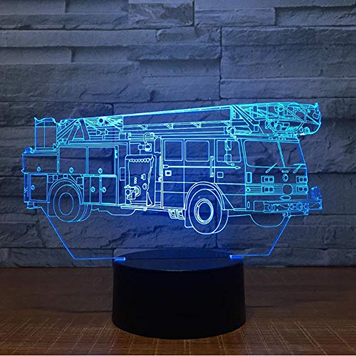 3D-led illusie lamp, nachtlampje, schedel, 3D-lamp, 7 kleuren, LED-nachtlampje, voor kinderen, USB-aansluiting, tafellamp, babylamp, nachtlampje, nachtlampje