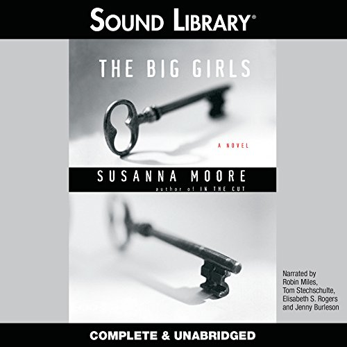 The Big Girls audiobook cover art