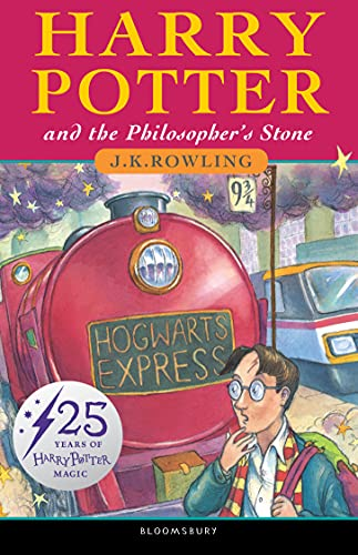 Harry Potter and the Philosopher's Stone – 25th Anniversary Edition: J.K. Rowling: 1